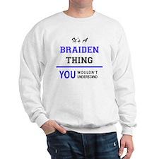 Cute Braiden Sweatshirt
