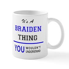 Cute Braiden Mug