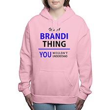Cute Brandy Women's Hooded Sweatshirt