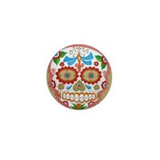 "Eden Folwell ""Amor"" Day of the Dead Mini Button"