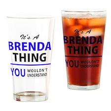 Unique Brenda Drinking Glass