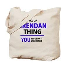 Cute Brendan Tote Bag