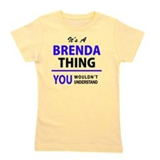 Cute Brenda Girl's Tee