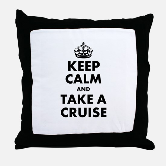 Take a Cruise Throw Pillow