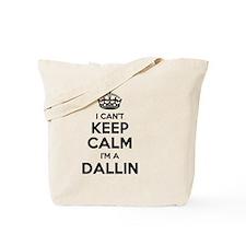 Funny Dallin Tote Bag