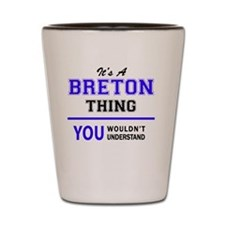 Cute Breton Shot Glass
