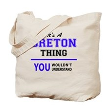 Unique Breton Tote Bag