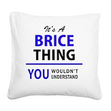Unique Brice Square Canvas Pillow
