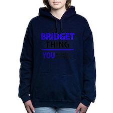Cute Bridget Women's Hooded Sweatshirt