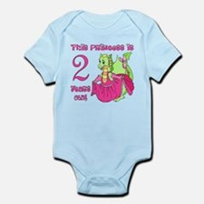 Princess is 2 Years Infant Bodysuit