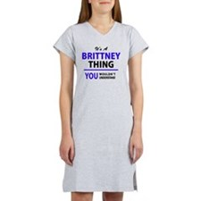 Cute Brittney Women's Nightshirt