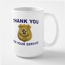 POLICE THANKS Mugs