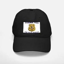POLICE THANKS Baseball Hat