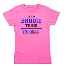 Cute Brodie Girl's Tee