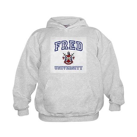 FRED University Kids Hoodie
