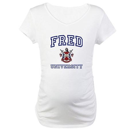 FRED University Maternity T-Shirt
