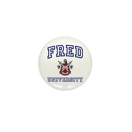 FRED University Mini Button