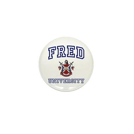 FRED University Mini Button (100 pack)