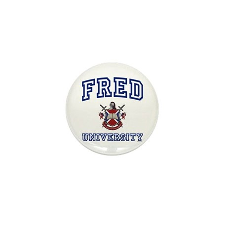 FRED University Mini Button (10 pack)