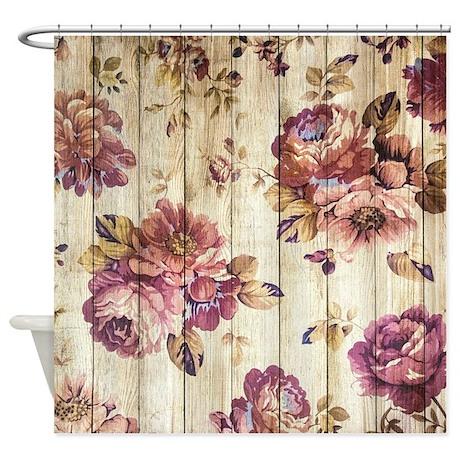 Cute Victorian Shower Curtain