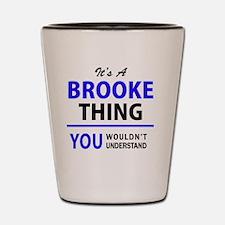 Unique Brooke Shot Glass