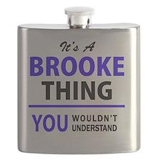 Cute Brook Flask