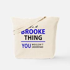 Cute Brooke Tote Bag