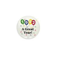 1992 A Great Year Mini Button (10 pack)