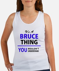 Unique Bruce Women's Tank Top