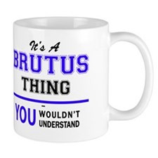 Unique Brutus Mug