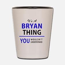 Cute Bryan Shot Glass