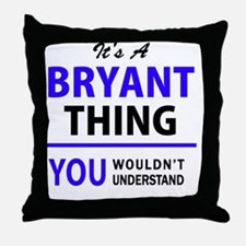 Cute Bryant Throw Pillow
