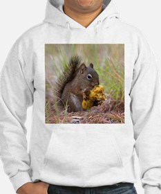 Happy Squirrel & Prized Mushroom Hoodie
