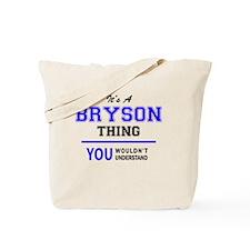 Cute Bryson Tote Bag