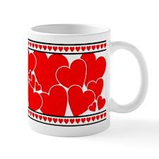 Red Hearts Mugs