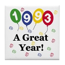 1993 A Great Year Tile Coaster