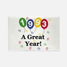 1993 A Great Year Rectangle Magnet