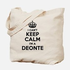 Cute Deonte Tote Bag