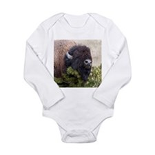 Christmas Bison Body Suit