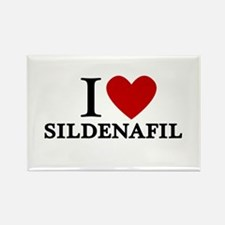 I Love Sildenafil Rectangle Magnet