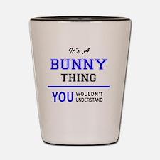 Bunny Shot Glass