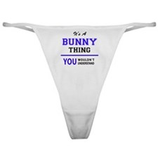 Funny Bunny Classic Thong