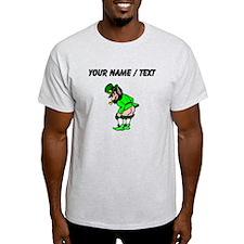 Custom Leprechaun Mooning T-Shirt