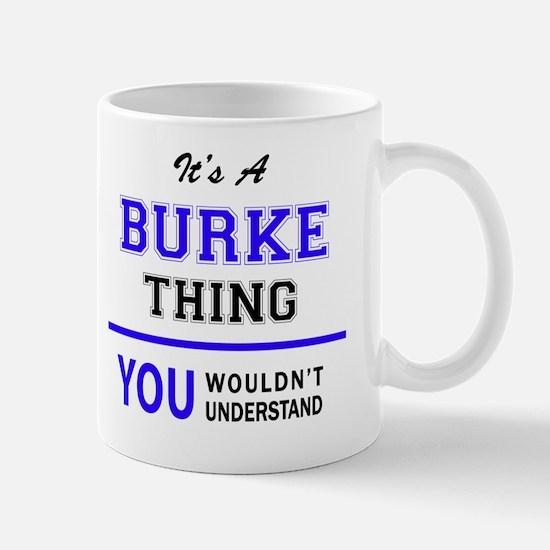 Unique Burke Mug