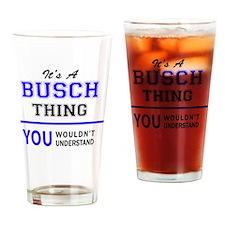 Cute Busch Drinking Glass