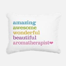 Aromatherapist Rectangular Canvas Pillow