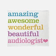 Audiologist Throw Blanket