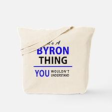 Funny Byron Tote Bag