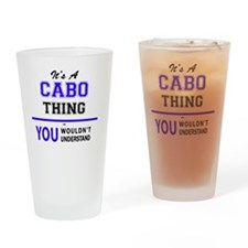 Cute Cabo Drinking Glass
