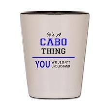 Cute Cabo Shot Glass